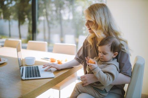 Thuiswerken met kind